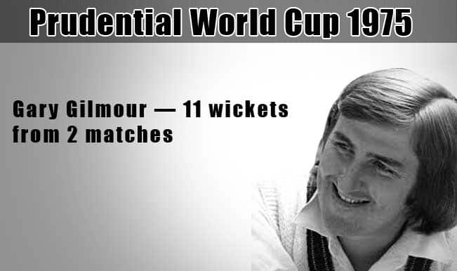 Prudential World Cup 1975: Gary Gilmour & 4 top bowling performances