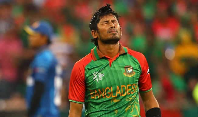 Anamul Haque OUT! Sri Lanka vs Bangladesh, ICC Cricket World Cup 2015 – Watch Full Video Highlights of the wicket