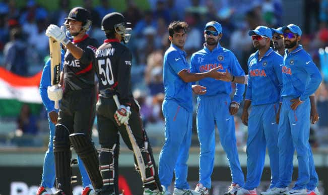India vs United Arab Emirates Cricket Highlights: Watch IND vs UAE, ICC Cricket World Cup 2015 Full Video Highlights