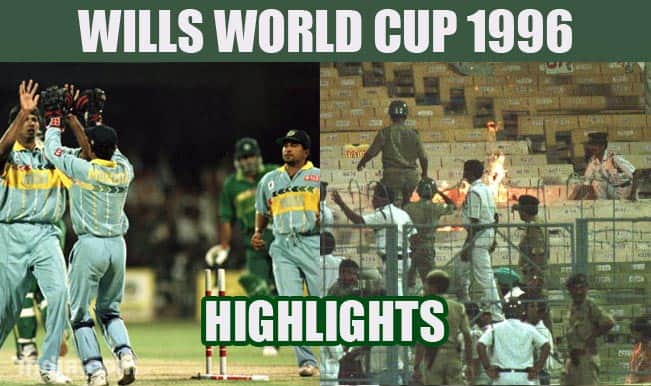 Wills World Cup 1996: India-Pakistan clash & 4 other top highlights