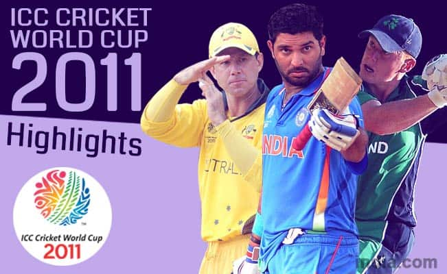 ICC Cricket World Cup 2011: Yuvraj Singh's heroics & other top 4 highlights CWC 2011