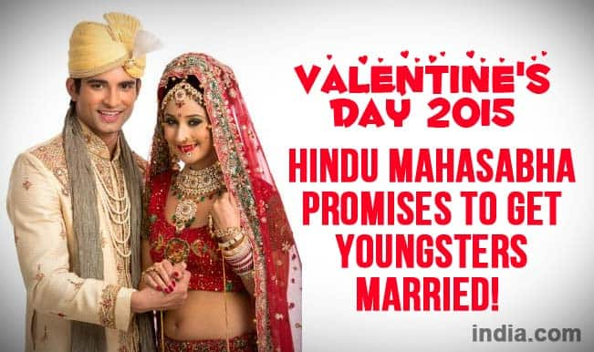 Valentine's Day 2015: Hindu Mahasabha promise to marry off couples for free!