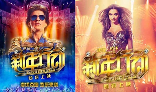 Shah Rukh Khan's Happy New Year goes to China!