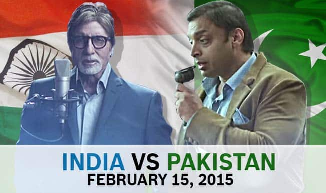 India vs Pakistan or Amitabh Bachchan vs Shoaib Akhtar: Key battles in ICC Cricket World Cup 2015?