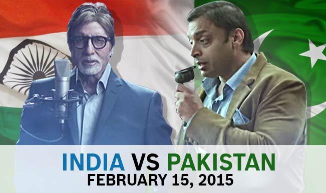 India vs Pakistan or Amitabh Bachchan vs Shoaib Akhtar: Key battles in ICC Cricket World Cup 2015?