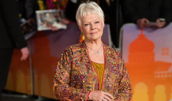 Judi Dench says animals are good for the soul