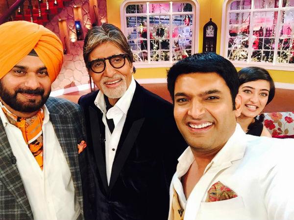 Comedy Nights With Kapil: Amitabh Bachchan, Dhanush and Akshara Haasan on the show for Shamitabh