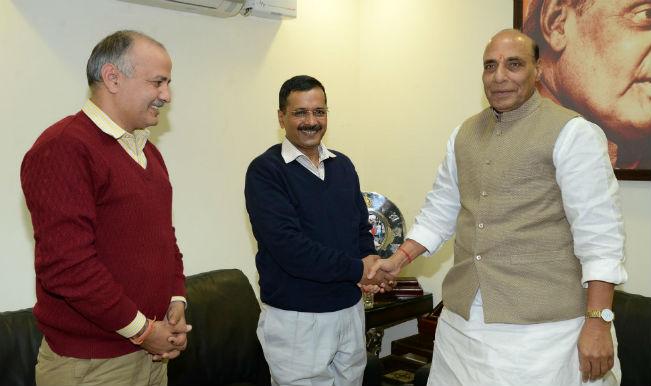 Arvind Kejriwal discusses Delhi's statehood with Rajnath Singh