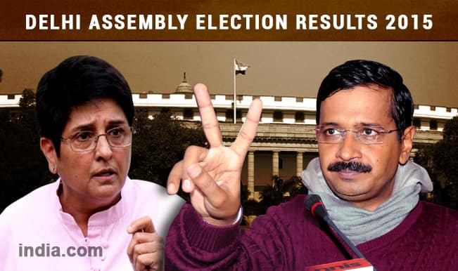 Parliamentary Constituency wise results of Delhi Assembly Election: Arvind Kejriwal's AAP storms to power with 67 seats