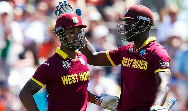 Darren Sammy's smashes bowlers to all parts: West Indies vs Ireland, ICC Cricket World Cup 2015, Match 5