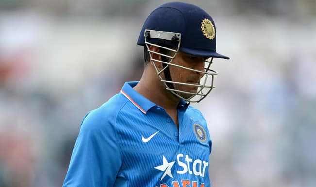 India vs Australia ICC Cricket World Cup 2015 Warm-up Match 1 Video Highlights: MS Dhoni OUT