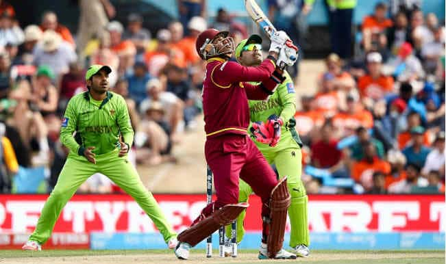 Marlon Samuels OUT! Pakistan vs West Indies, ICC Cricket World Cup 2015 – Watch Full Video Highlights of PAK vs WI clash