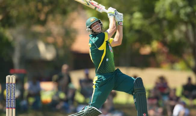 India vs Australia ICC Cricket World Cup 2015 Warm-up Match 1 Video Highlights: Mitchell Marsh OUT
