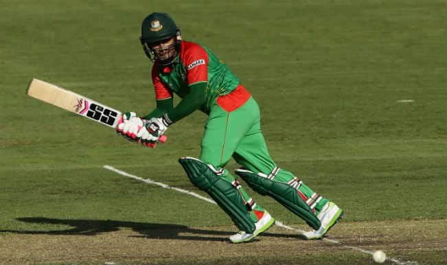 Mushfiqur Rahim OUT! Bangladesh vs Afghanistan, ICC Cricket World Cup 2015 – Watch Full Video Highlights of the wicket
