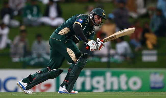 Nasir Jamshed approved as Mohammad Hafeez's replacement in Pakistan squad for ICC Cricket World Cup 2015