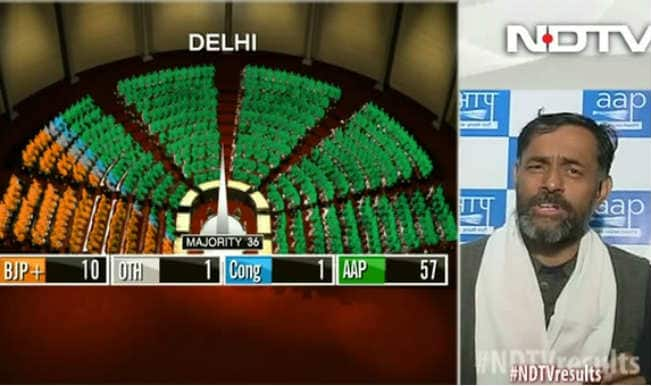 Delhi Assembly Elections Live Results: AAP party member Yogendra Yadav speaks to NDTV News