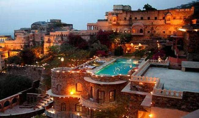 Neemrana luxury hotel fire: 2 die of suffocation, one burnt alive