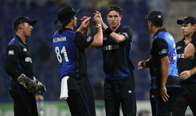 New Zealand vs Zimbabwe, ICC Cricket World Cup 2015 Warm-up Match 3