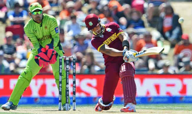 Pakistan vs West Indies, ICC Cricket World Cup 2015: Lendl Simmons & Andre Russell fireworks, poor PAK fielding light WI innings