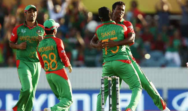 Rubel Hossain Catch! Bangladesh vs Afghanistan, ICC Cricket World Cup 2015 – Watch Full Video Highlights of the wicket