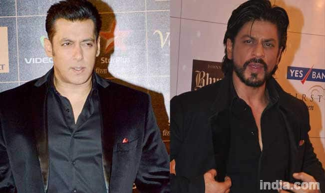 shahrukh and salman meet together with
