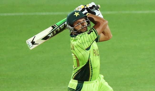 Shahid Afridi becomes the first cricketer to score 8000 runs and take 350+ wickets in ODI's