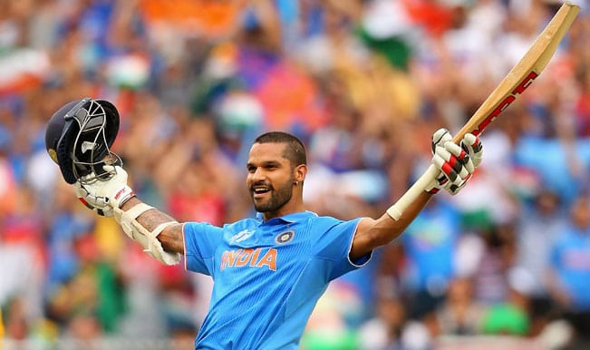 India vs South Africa 2015 ICC Cricket World Cup: Shikhar Dhawan's 137 among Top 3 highlights of IND's innings vs SA