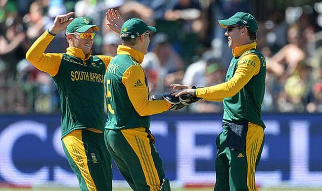 South Africa vs Zimbabwe, ICC World Cup 2015 Group B, Match 3: Live Scoreboard and ball-by-ball updates