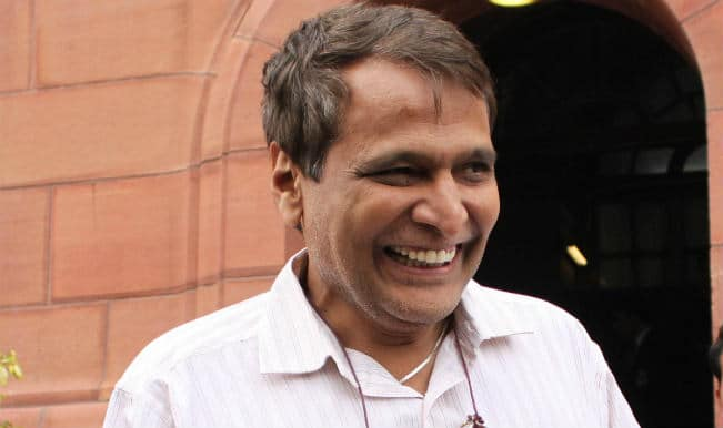 Rail Budget Speech 2015 Live Streaming: Watch Suresh Prabhu presenting his first Indian Railway Budget
