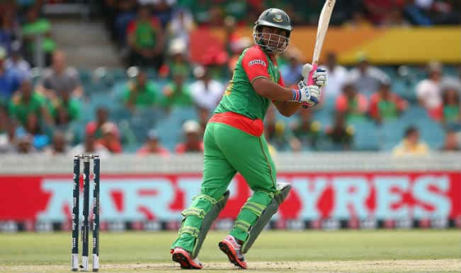 Tamim Iqbal OUT! Bangladesh vs Afghanistan, ICC Cricket World Cup 2015 – Watch Full Video Highlights of the wicket
