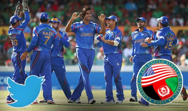 Bangladesh vs Afghanistan, ICC Cricket World Cup 2015: US Embassy in Kabul jumps the gun, wishes Afghanistan team for win much before the result!