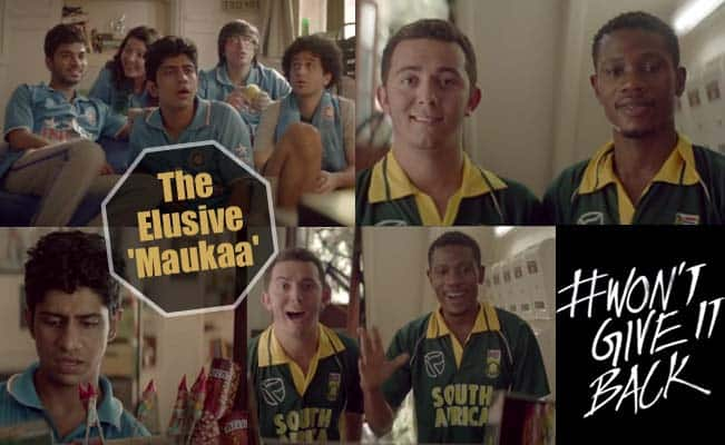 India vs South Africa 'Mauka Mauka' ad full video: SA taunts IND with 'The Elusive Maukaa' after Ind Vs Pak promo!