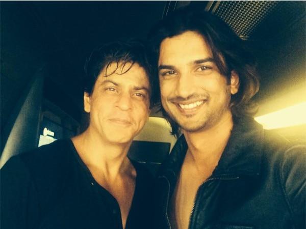 Sushant Singh Rajput's fan boy moment with Shah Rukh Khan!