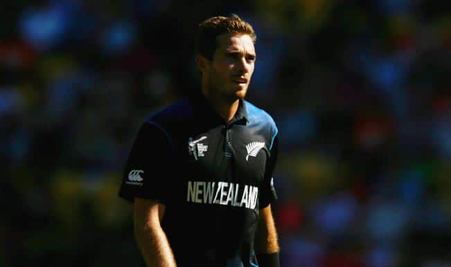 New Zealand vs Australia, ICC Cricket World Cup 2015: Brendon McCullum expects Tim Southee despite injury scare