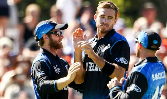 Aaron Finch OUT! New Zealand vs Australia, ICC Cricket World Cup 2015 — Watch video highlights of fall of wicket