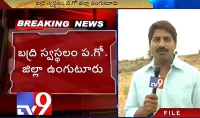 TV9 presenter Badri and his son killed in car accident