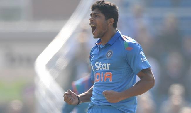 India vs Australia ICC Cricket World Cup 2015 Warm-up Match 1: Steve Smith dismissed by Umesh Yadav