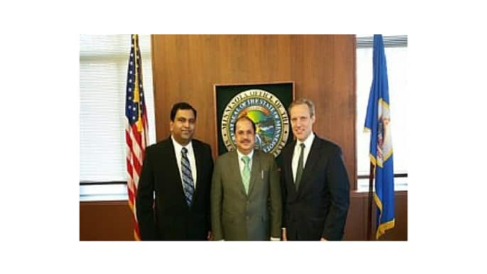 Consul General Dr. Sayeed Visits Minneapolis