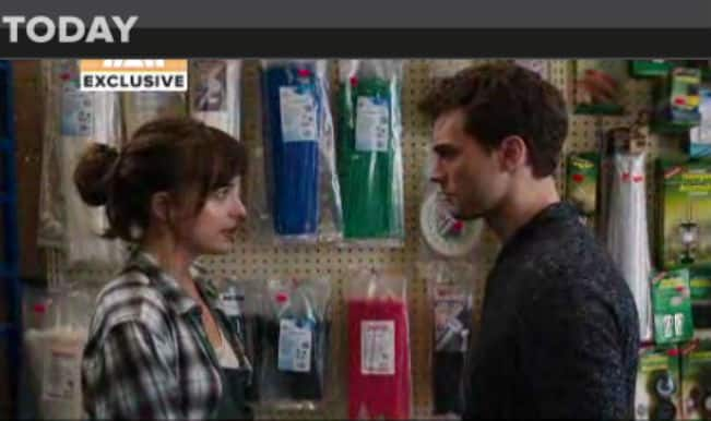 EXCLUSIVE: Fifty Shades of Grey FULL scene (Watch video)