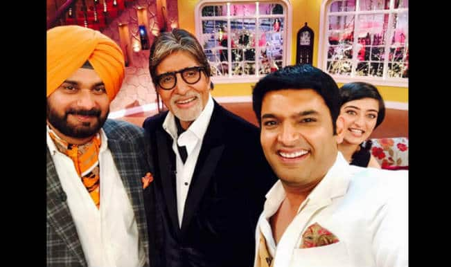 Shamitabh promotions on Comedy Nights With Kapil!