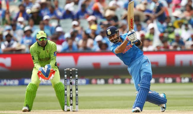 Virat Kohli OUT! India vs Pakistan, ICC Cricket World Cup 2015 – Watch Full Video Highlights here