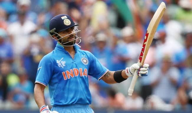 Is Virat Kohli The Next Sachin Tendulkar India Vs Pakistan Icc Cricket World Cup 2015 India Com