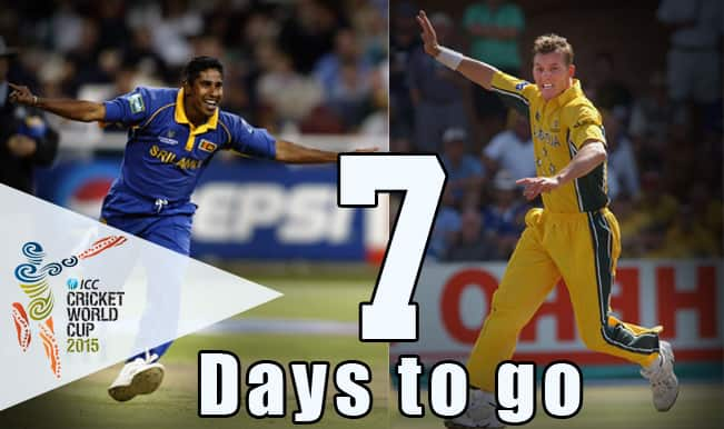 ICC Cricket World Cup 2015 Countdown Day 7: Brett Lee, Chaminda Vaas claim hat-tricks in 2003 World Cup