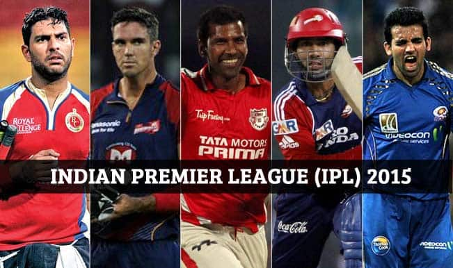 Indian Premier League 2015 Player Auction: List of all unsold.