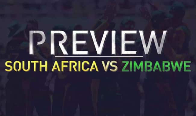 South Africa vs Zimbabwe ICC Cricket World Cup 2015 Match 3 Video Preview on Star Sports