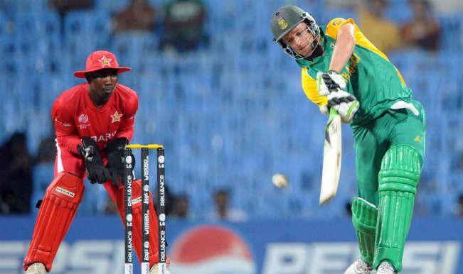 विश्व कप : दक्षिण अफ्रीका ने जिम्बाब्वे को 62 रनों से हराया