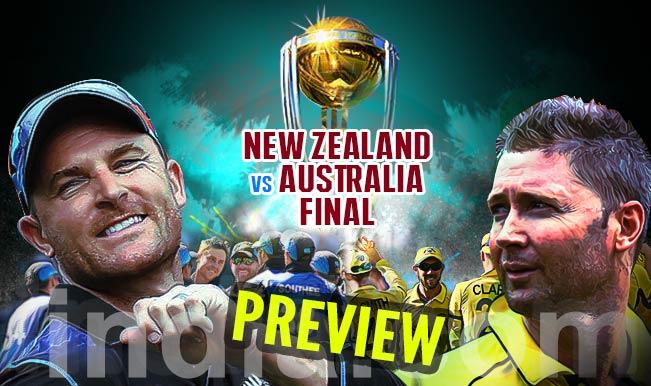 आईसीसी विश्वकप 2015: फाइनल में होगी न्यूजीलैंड-ऑस्ट्रेलिया की भिड़ंत, दुनिया को मिलेगा नया चैंपियन