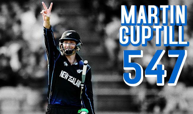2015 Cricket World Cup Leading Run-Scorers: Martin Guptill tops the list of top-10 batsmen of WC 2015