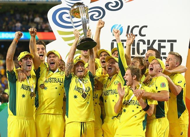 आईसीसी विश्व कप जीतने वाली टीमों की सूची