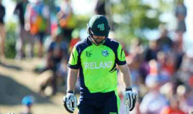 Paul Stirling OUT! India vs Ireland ICC Cricket World Cup 2015 – Watch Full Video Highlights of Fall of Wicket